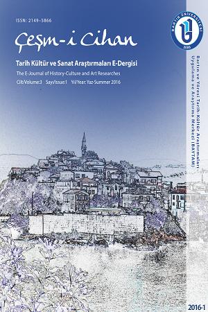 Çeşm-i Cihan (Tarih Kültür ve Sanat Araştırmaları Dergisi) E-Dergisi