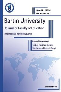 Bartın Üniversitesi Eğitim Fakültesi Dergisi